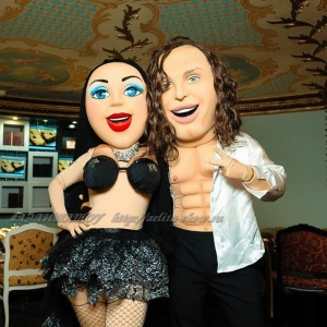 Шоу ростовых кукол дуэт Матильда и Артур