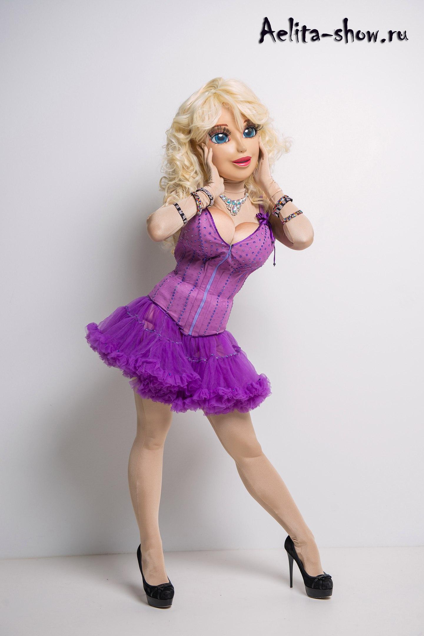 женский стриптиз - Ростовая кукла Барби