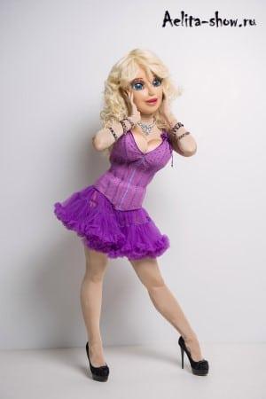 Живая кукла Барби